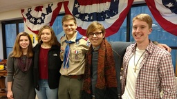 Earning the Rank of Eagle Scout